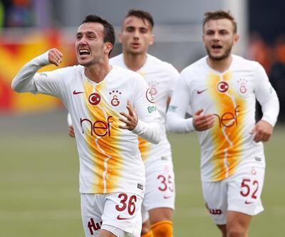 Galatasaray'ın gençleri maça damga vurdu