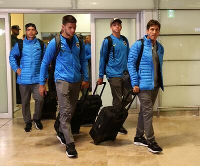 Boca Juniors Madrid'e geldi