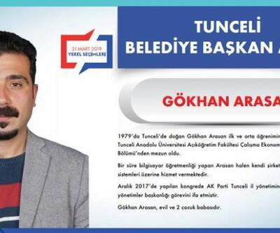AK Parti Tunceli Belediye Başkanı Adayı Gökhan Arasan kimdir?