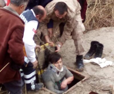 Kayıp kadın su kuyusunda bulundu