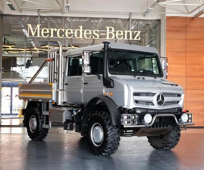 Mercedes Unimog şehirli oluyor