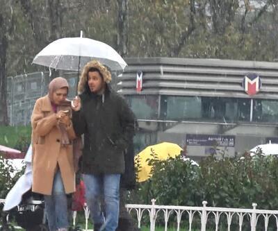 İstanbul bir günde dört mevsimi yaşadı