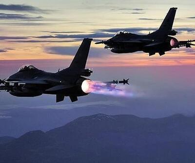 Şengal ve Mahmur'daki PKK hedeflerine bomba yağdı