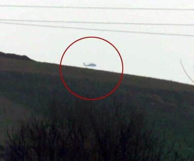 ABD'ye ait iki Skorsky, Fırat'ın doğusunda görüntülendi