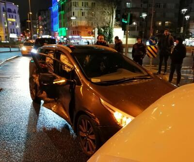 Fatih'te kaza: 8 aylık hamile kadın araçta sıkıştı