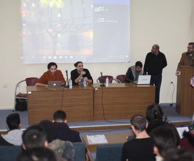Fırat Üniversitesi Reklam Atölyesi'nde öğrencilere reklamcılık anlatıldı