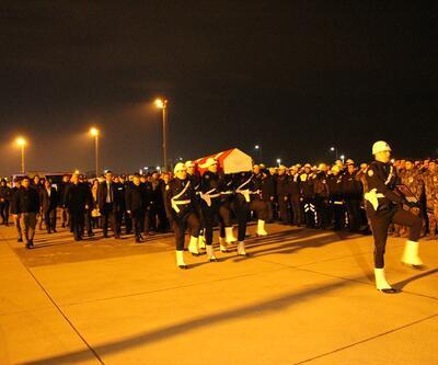 Şehit polisin cenazesi memleketine uğurlandı