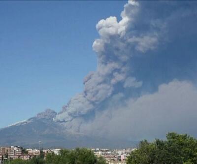Etna'da sonra Stromboli Yanardağı da faaliyete geçti