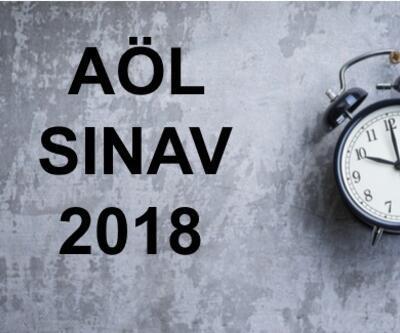 2018 AÖL sınav sonuçları ne zaman açıklanacak? 2019 AÖL iş takvimi yayınlandı