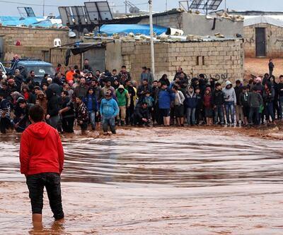 Lazkiye ve İdlib'deki sel felaketi için yardım çağrısı