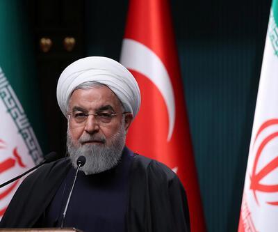 İran Cumhurbaşkanı'ndan ABD'ye suçlama