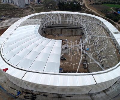 Adana'nın beklediği stadyum 2 aya hazır