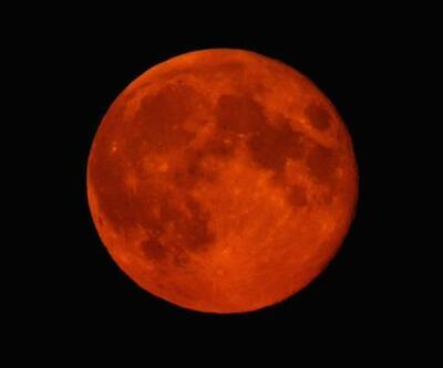 Yılın ilk ay tutulması: Süper Kanlı Kurt Ay