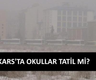 Kars'ta okullar yarın tatil mi? Kars hava durumu