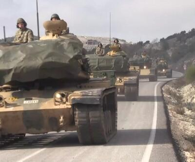Zırhlı araç konvoyu Hatay'a ulaştı