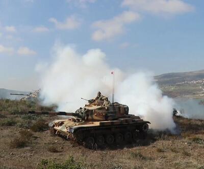 İdlib sınırında nefes kesen görüntüler