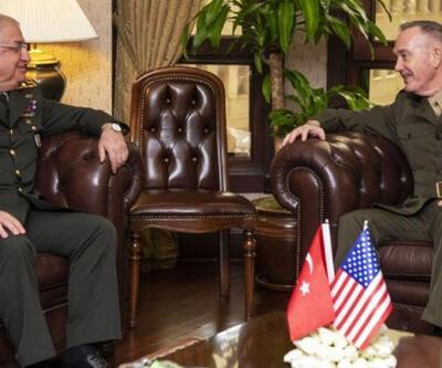 ABD Genelkurmay Başkanlığı Güler-Dunford görüşmesini kapak fotoğrafı yaptı