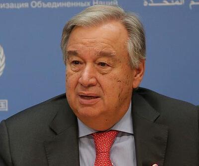 Son dakika... BM Genel Sekreteri Guterres: Türkiye'nin meşru güvenlik kaygıları dikkate alınmalı