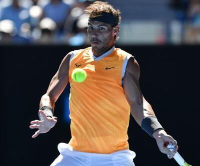 Nadal çeyrek finalde, Sharapova ve Kerber elendi