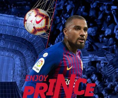 Barcelona Kevin-Prince Boateng'i böyle duyurdu