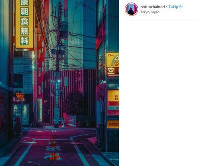 """""""Tokyo'nun Gerçeküstü Güzelliğini Yakaladım"""""""