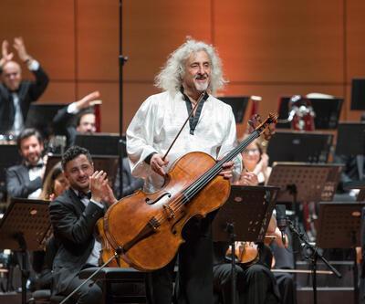 Viyolonselin efsane ismi İstanbul'da konser verdi