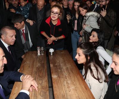 Erdoğan Antalya'da vatandaşlarla sohbet etti