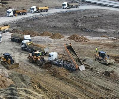 İBB'den hafriyat kamyonlarına 53 milyon 83 bin lira ceza