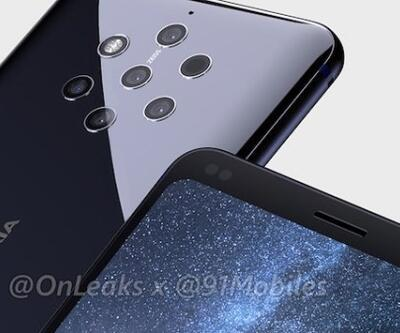 5 kameralı Nokia 9 yolda!