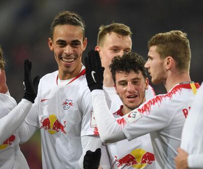 Düsseldorf 0-4 RB Leipzig / Maç Özeti