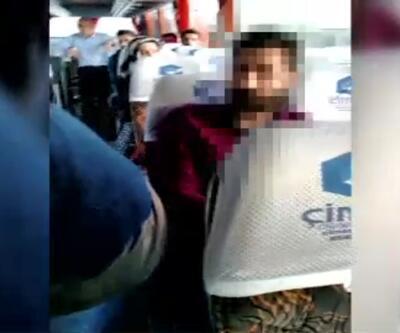 Montuna eroin bağlayıp otobüse bindi