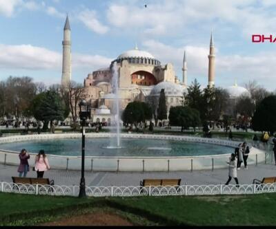 Turistlerin gözdesi İstanbul