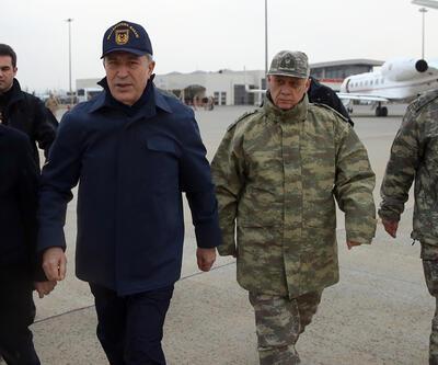 Milli Savunma Bakanı Akar sınırın sıfır noktasında
