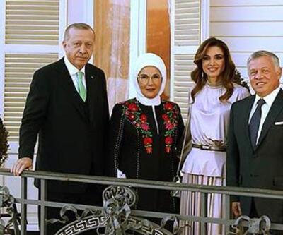 Emine Erdoğan'dan Ürdün Kralı'nın ziyaretine ilişkin paylaşım