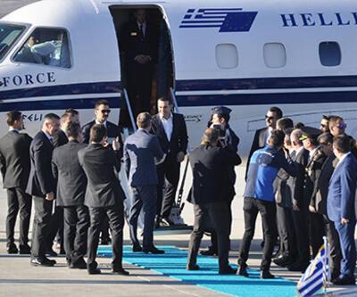 Yunanistan Başbakanı Çipras Ankara'da