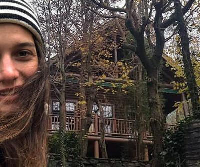 Oyuncu Gülcan Arslan ormana taşındı! 'Börtü böcek bir hayat yaşıyorum'