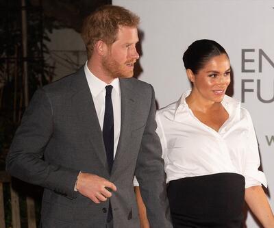 Prens Harry ve Düşes Meghan ödül töreninde