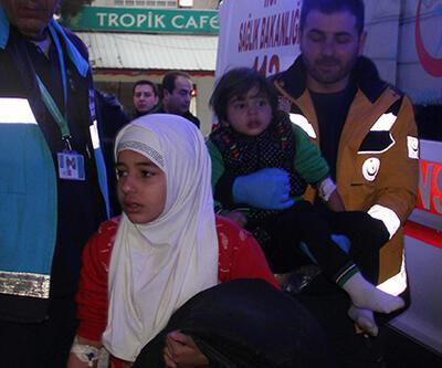 Suriyeli anne ve 5 çocuğu sobadan zehirlendi