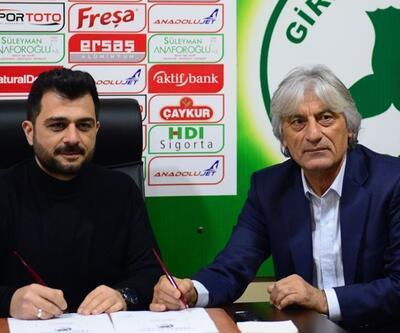 Giresunspor'un yeni teknik direktörü Kemal Kılıç