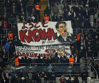 Beşiktaş - Bursaspor maçında tribünlerde dikkat çeken görüntü