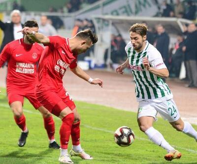 Giresunspor 1-1 Ümraniyespor maç sonucu