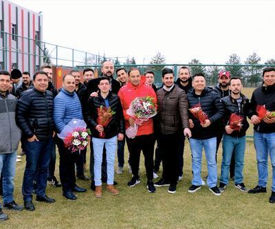 Eskişehirspor'a Sevgililer Günü sürprizi