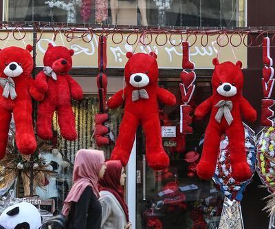 Gazze'de Sevgililer Günü hazırlığı