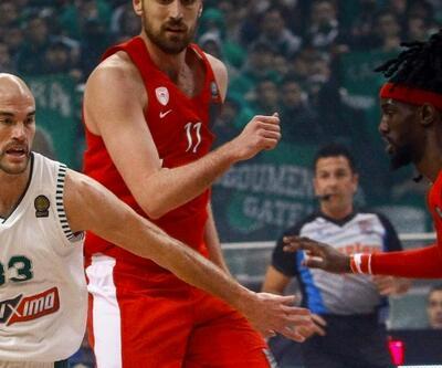 Panathinaikos-Olympiakos maçı yarıda kaldı