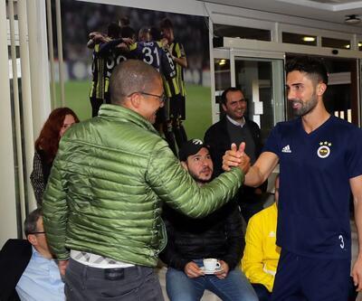 Alex de Souza Fenerbahçe idmanını ziyaret etti
