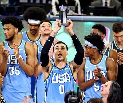 NBA All Star 2019 Yükselen Yıldızlar maçında MVP ödülü Kyle Kuzma'nın