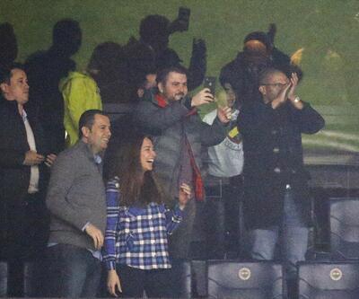 Alex de Souza Konyaspor maçını statta izledi