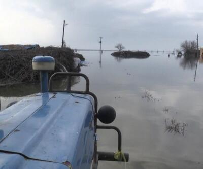 Amik Ovası yine su altında