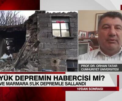 Prof. Dr. Orhan Tatar açıkladı: Son depremler büyük depremin habercisi mi?