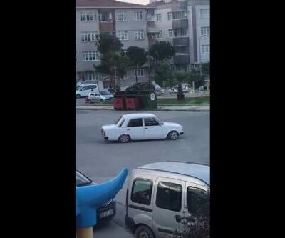 Samsun'da drift yapan sürücüye 5 bin 10 TL ceza